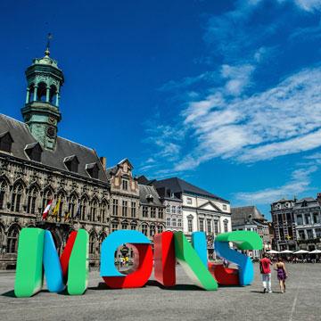 Mons en 15 instantáneas, así es la Capital Europea de la Cultura 2015