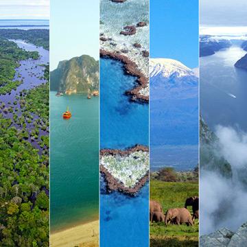 Cinco Maravillas del mundo para celebrar como se merece el Día Mundial de la Tierra