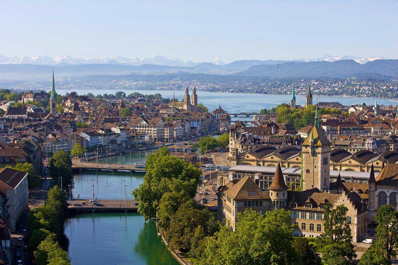 Zurich, una ciudad de agua con mucho arte