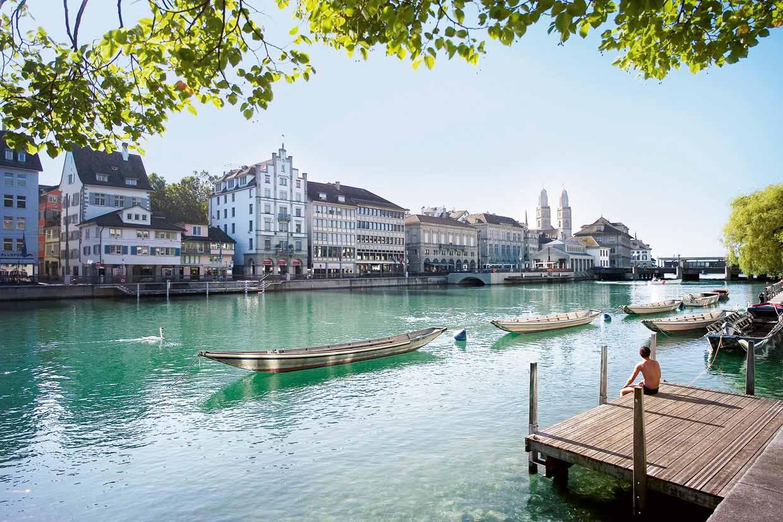 Importantes Ríos De Suiza: Zurich, Una Ciudad De Agua Con Mucho Arte