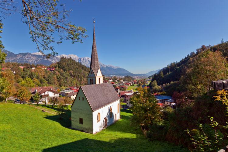 Vacaciones bucólicas en las aldeas de Innsbruck