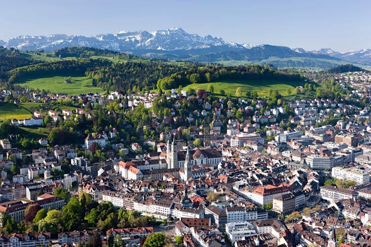 San Galo, la deliciosa ciudad suiza de los libros