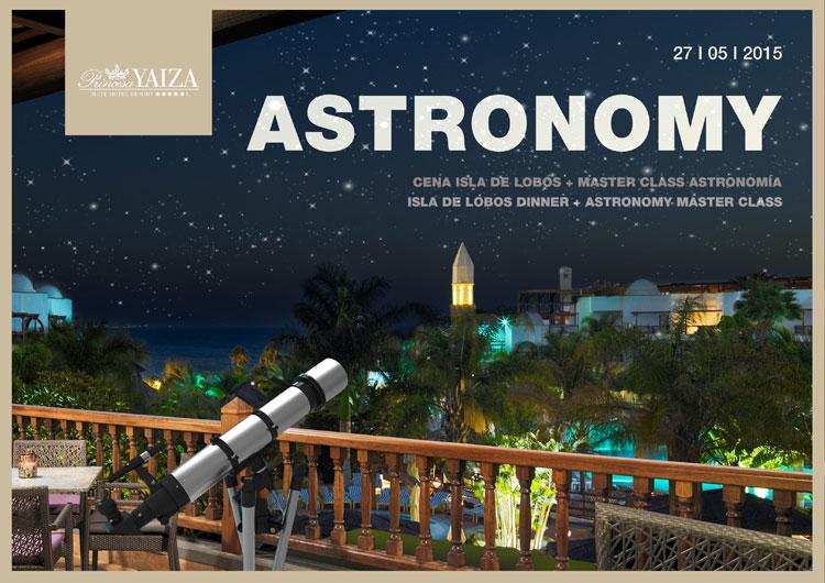Noche astronómica mirando el cielo