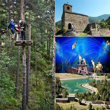 Colección de planes para una escapada de fin de semana en Andorra