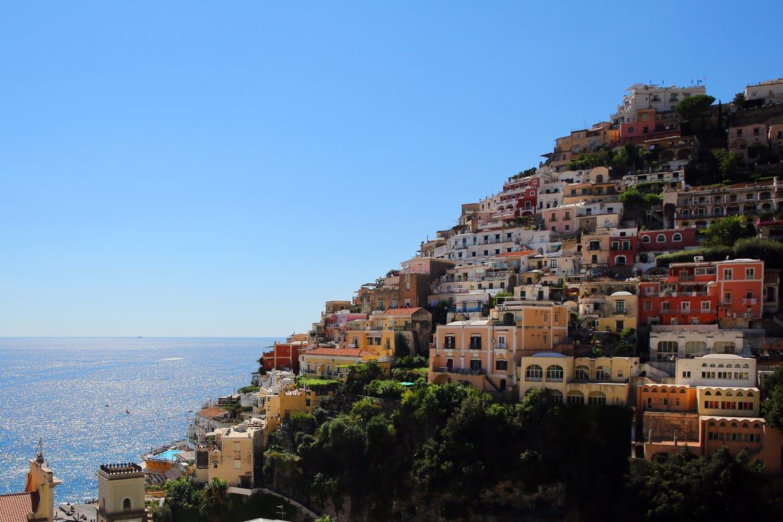 Positano un pueblo so ado para unas vacaciones junto al mar for Hoteles junto al mar