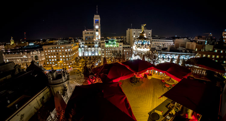 Cinco terrazas para pasar tus tardes-noches de verano