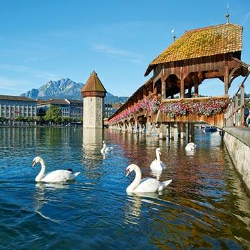 Una escapada a Lucerna, con los Alpes a sus pies