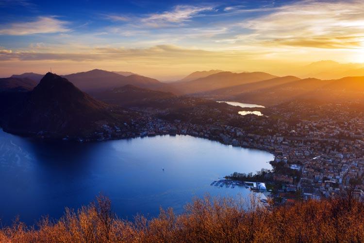 Lugano, el rincón suizo donde parar todos los relojes