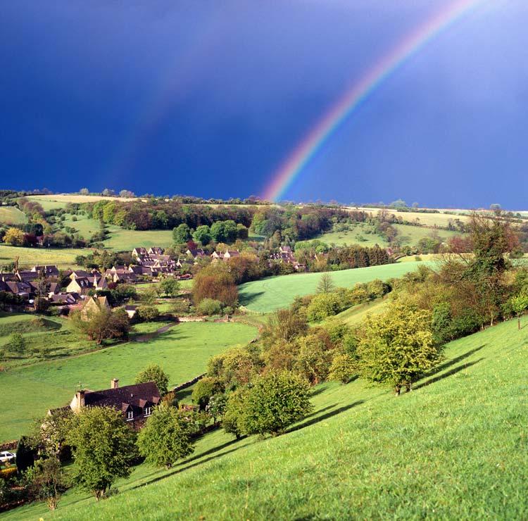 Los Cotswolds, el refugio rural más chic de las celebrities británicas