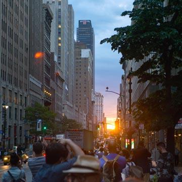 El solsticio de Manhattan y otros planes 'a la última' en Nueva York