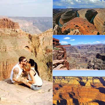 El Gran Cañón del Colorado: cómo disfrutar de esta maravilla al estilo de Pilar Rubio y Sergio Ramos