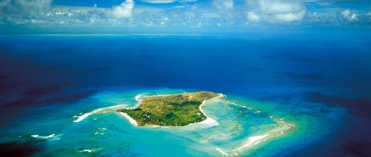 El idílico y remoto refugio de Sir Richard Branson en el Caribe
