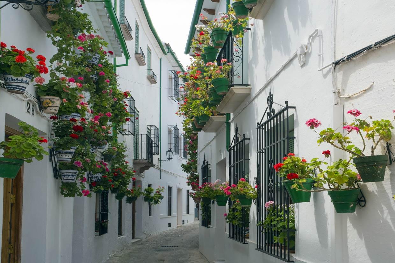 Decorar Balcones Fiestas De Pueblos