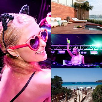 Un verano en Ibiza al estilo Paris Hilton