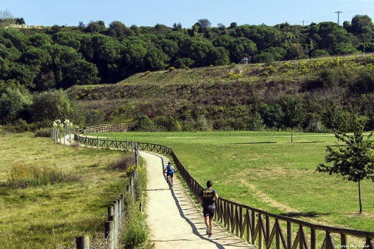 Para runners, ciclistas o senderistas: en forma por las rutas verdes de Gijón