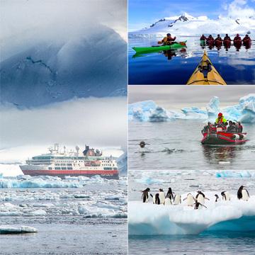 A la conquista de la Antártida, un viaje en busca de los confines del mundo