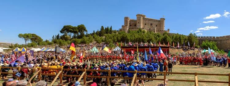 La que se va a armar el fin de semana en el castillo de Belmonte