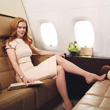 La invitación de Nicole Kidman a dormir en una suite en el cielo