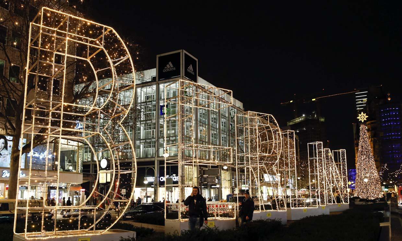 Así lucen este año las ciudades europeas vestidas de Navidad