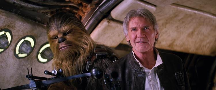 En Chicago con Harrison Ford, una de sus estrellas en las galaxias