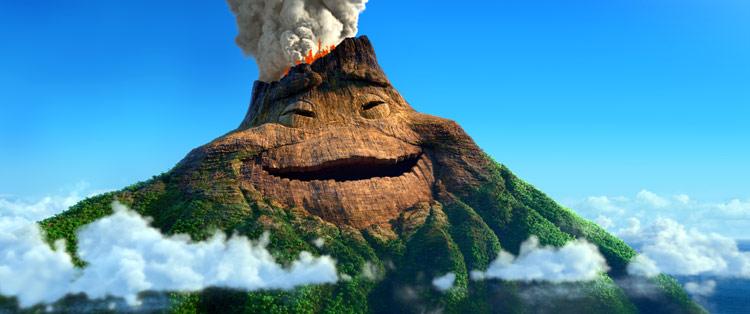 Los volcanes de Hawai, la inspiración del cortometraje 'Lava'