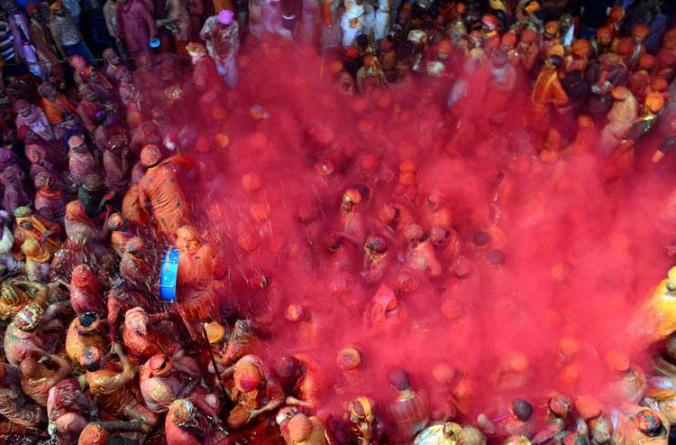 El éxtasis del Festival de Holi, la fiesta más colorida de la India
