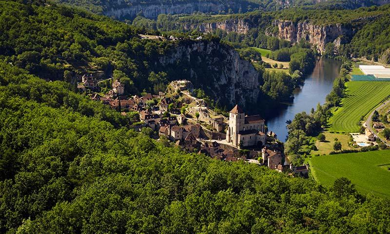 Saint-cirq-lapopi-Francia-pueblos