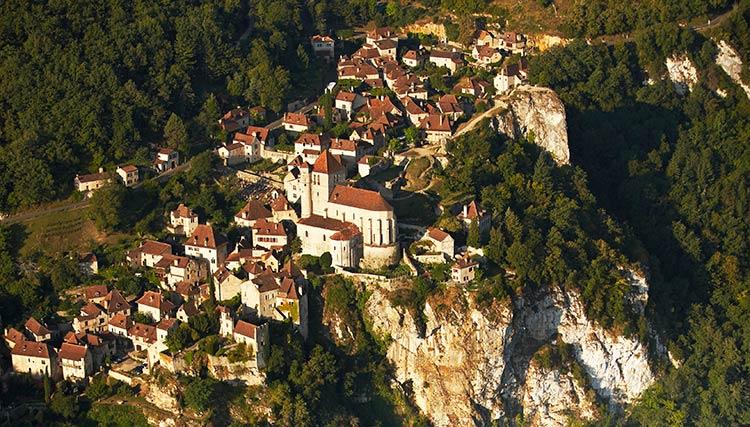 Saint-cirq-lapopi-pueblos-Francia
