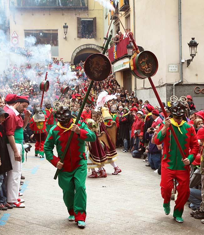 Flores y mucha fantasía para celebrar este finde en Barcelona la fiesta del Corpus