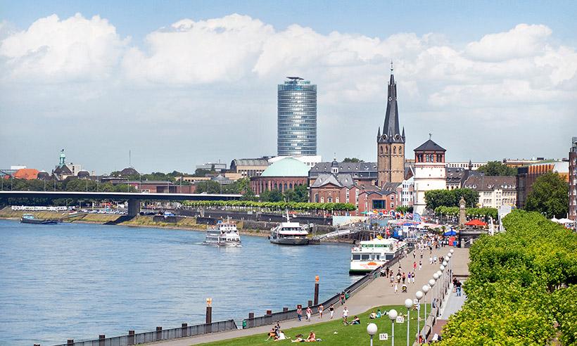 Düsseldorf en 10 claves, una ciudad a orillas del Rin moderna e inquieta