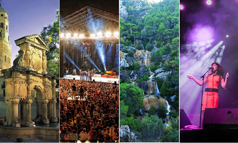 5 planazos (animados con arte, naturaleza y música en vivo) de fin de semana por Jaén