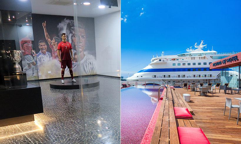 Cristiano Ronaldo y su nuevo templo (museo+hotel) en Funchal