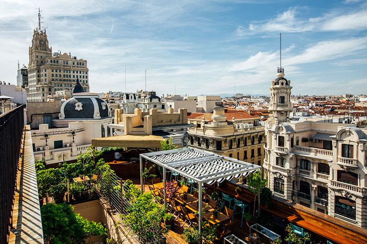 Una vuelta o dos por chueca el barrio madrile o m s - Terrazas aticos madrid ...