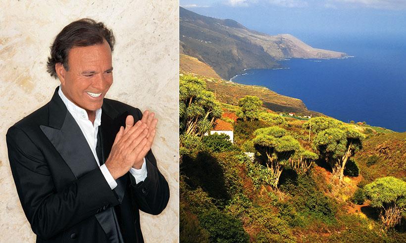 Ver cantar a Julio Iglesias y otros planes imprescindibles en La Palma