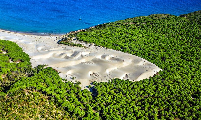 De ruta por la costa gaditana, de Vejer de la Frontera a la playa de Bolonia