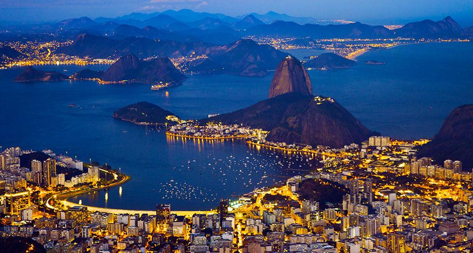 Río de Janeiro desde sus miradores, en el podio de la ciudad olímpica