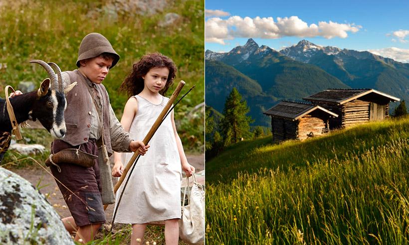 Buscando a Heidi en los Alpes suizos