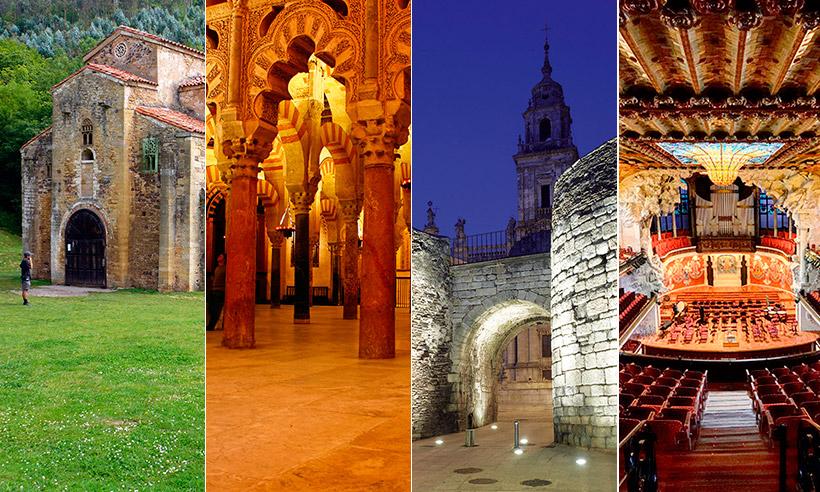 Los monumentos Patrimonio de la Humanidad en España, en imágenes