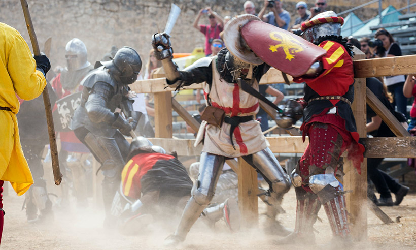Plan medieval para rematar agosto