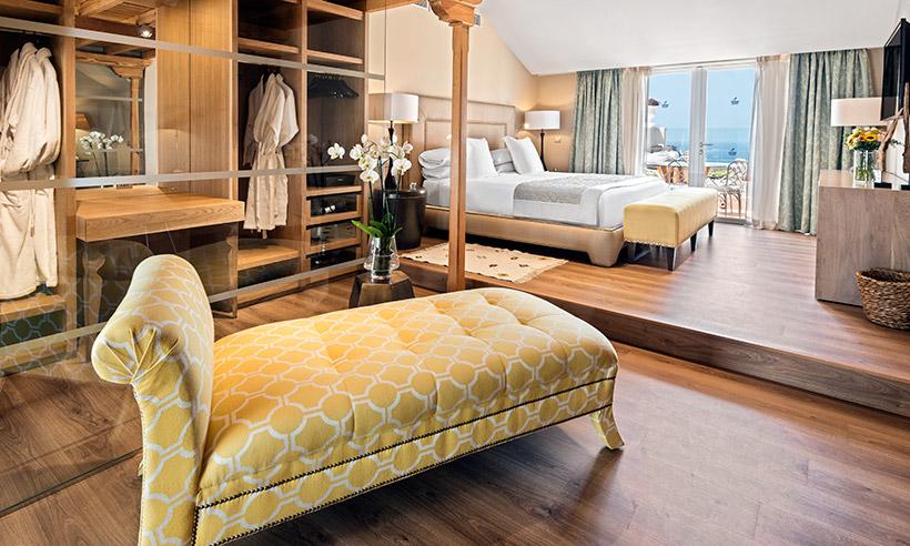 Duerme en una de las suites más grandes del mundo