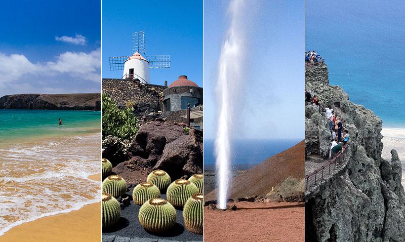 Lanzarote, un paraíso natural en siete porciones