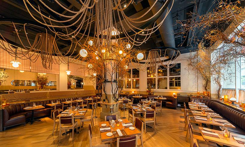 En Nueva York hay un restaurante… ¡que cambia con las estaciones!