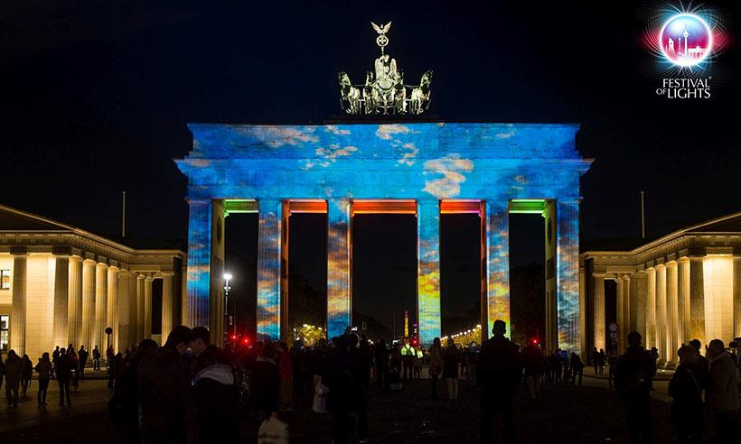 Berlín, invadida en octubre por la luz
