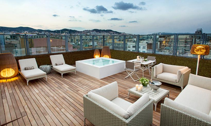 Así es la suite de ultralujo más grande de Barcelona
