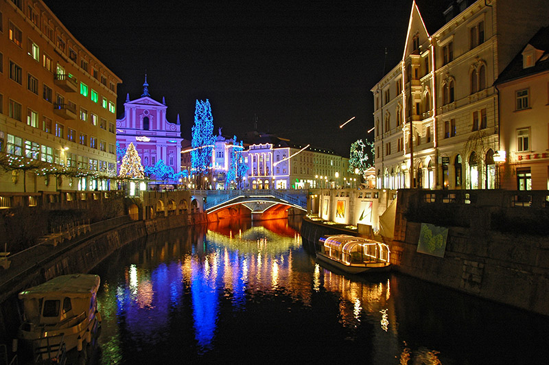 Liubliana, Eslovenia navidad