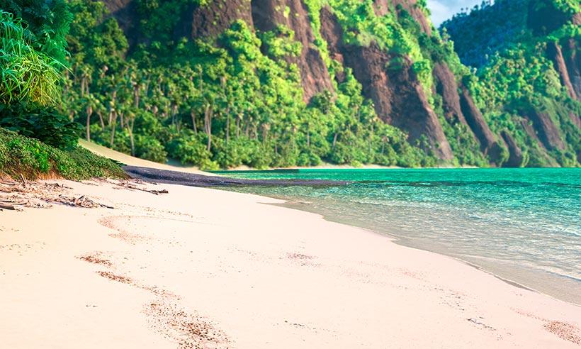 La isla que ama Vaiana está en... el Pacífico Sur