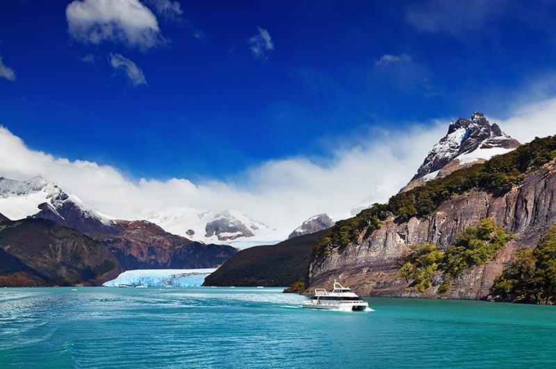 Glaciar perito moreno antes y despues de adelgazar