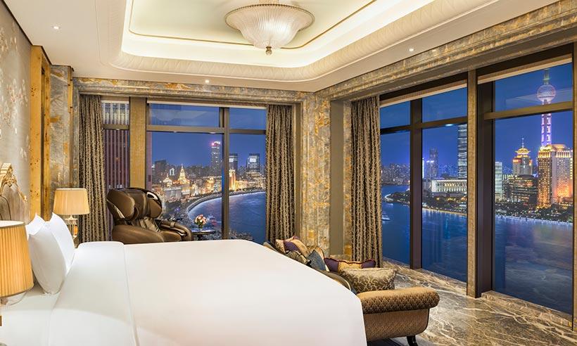 El hotel más lujoso de Asia (probablemente) está en Shanghai