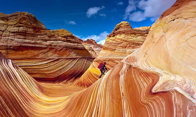 El paisaje de color rojizo más espectacular del mundo, ¡para quedarse de piedra!