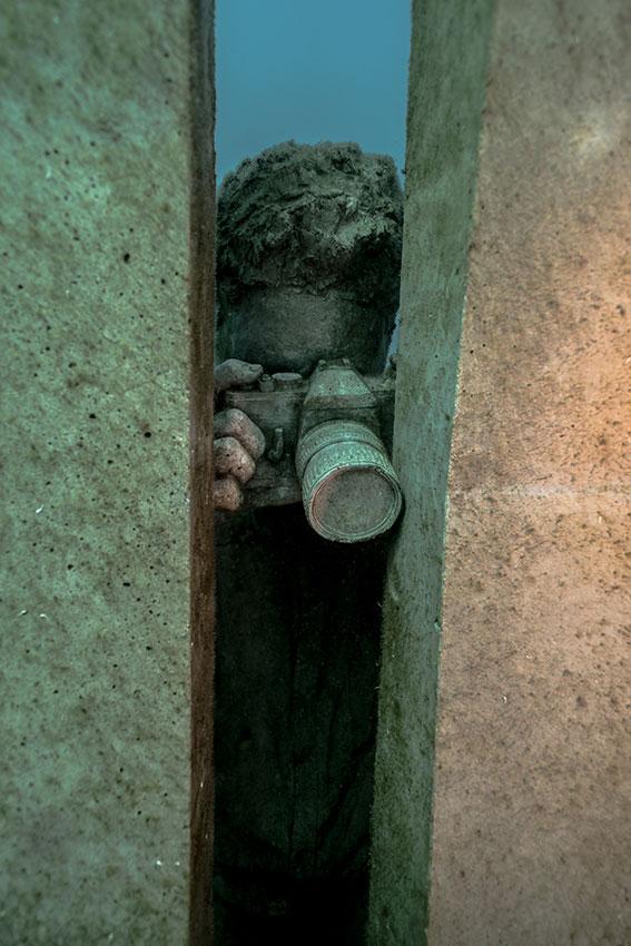 Un museo bajo el mar para descubrir buceando en Lanzarote